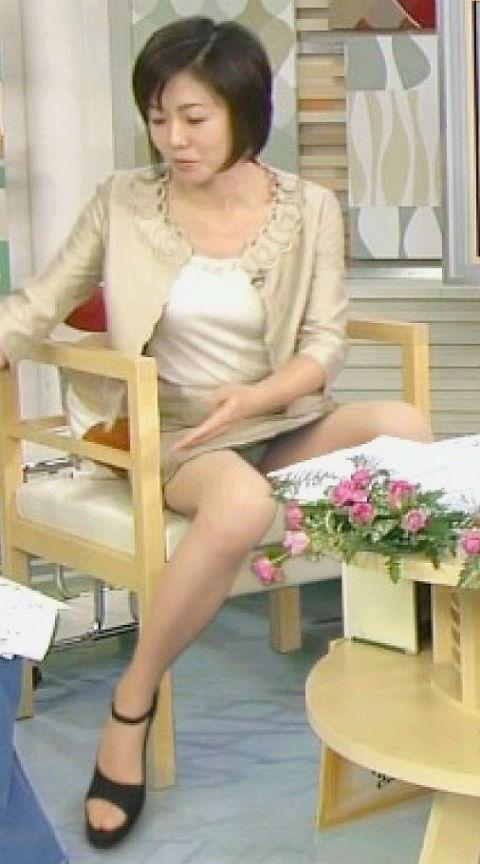 【放送事故画像】女子アナのパンチラや胸ちら総集編wエロすぎですwww 05