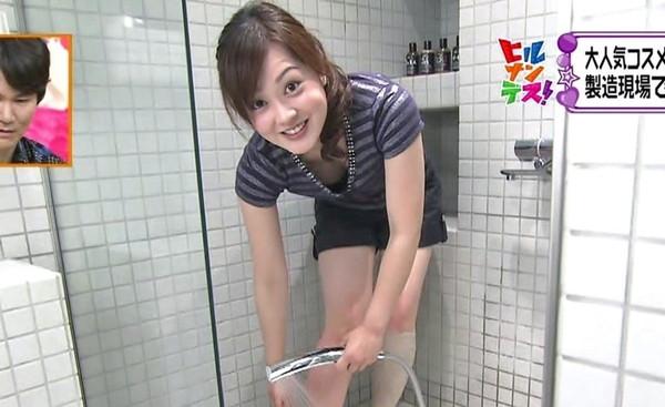 【放送事故画像】女子アナのパンチラや胸ちら総集編wエロすぎですwww 17