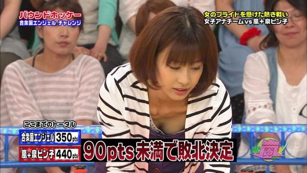 【放送事故画像】女子アナのパンチラや胸ちら総集編wエロすぎですwww 20