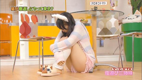 【放送事故画像】エロい太ももテレビで映すからその太ももにチンコ擦りつけたくなってきたwww 18