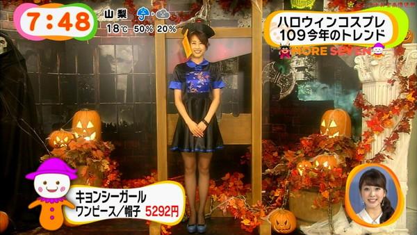 【放送事故画像】女子アナ達のエロ可愛いハロウィンコスプレwww 10
