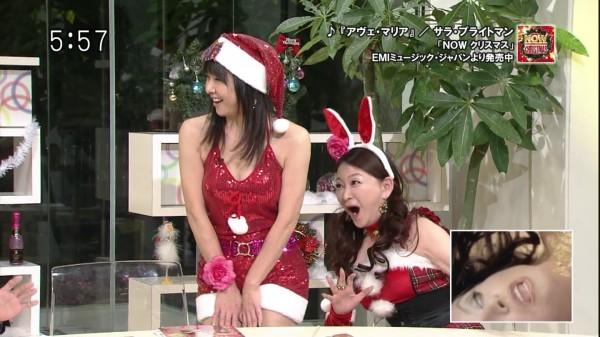 【放送事故画像】女子アナ達のエロ可愛いハロウィンコスプレwww 23