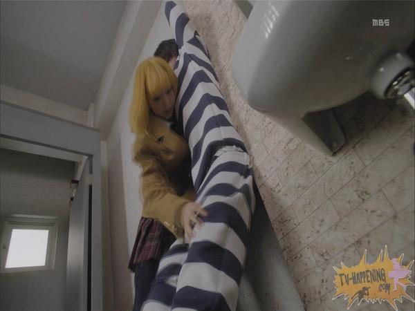 【お宝エロ画像】今話題のドラマ、監獄学園第2話もまたまたエロシーン満載www 17