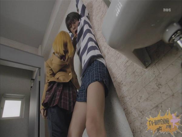 【お宝エロ画像】今話題のドラマ、監獄学園第2話もまたまたエロシーン満載www 19