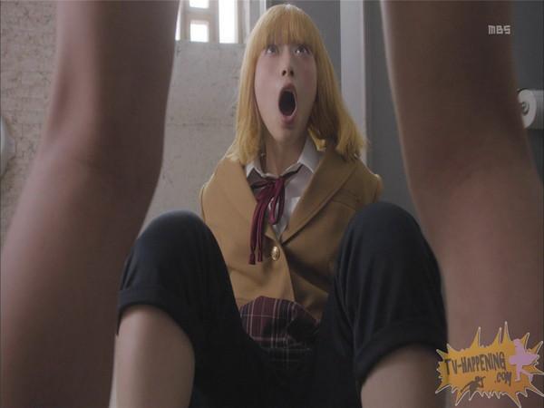 【お宝エロ画像】今話題のドラマ、監獄学園第2話もまたまたエロシーン満載www 21