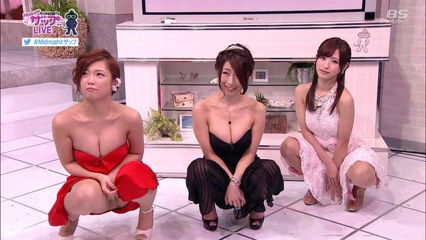 【放送事故画像】これが私の武器と言わんばかりにテレビで見せつけてくる女達ww