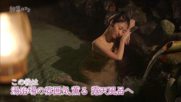 【放送事故画像】何で女ってバスタオル巻くときいっつもオッパイ半分くらい出すんだ?www 15