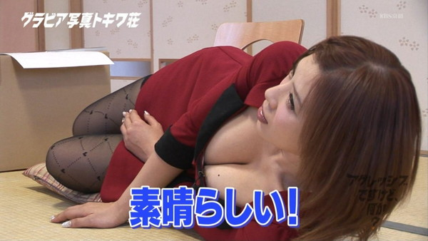 【放送事故画像】テレビに出てる巨乳ちゃんっていったい何人似揉まれてそんあデカくなったんだ?w 02