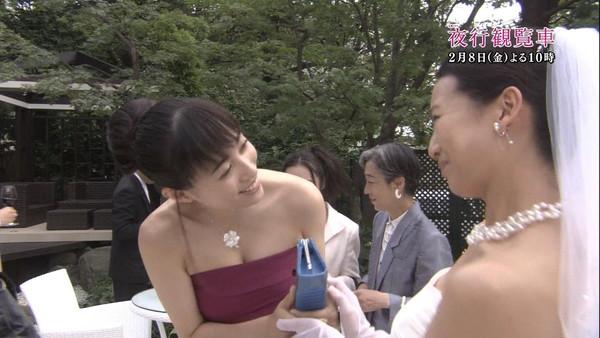 【放送事故画像】テレビに出てる巨乳ちゃんっていったい何人似揉まれてそんあデカくなったんだ?w 21