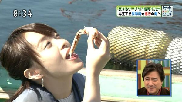 【放送事故画像】そんな顔して食べてたらまるでチンコ咥えてるみたいですよwww 15