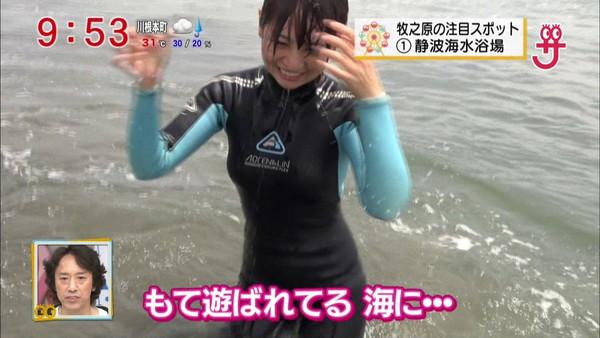 【放送事故画像】夏の思い出といえばやっぱり水着美女達?ww 07