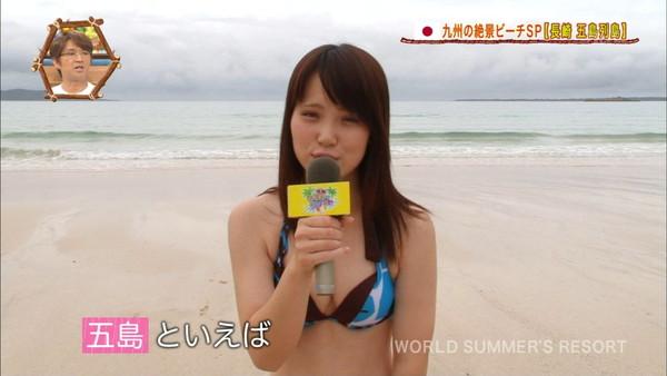 【放送事故画像】夏の思い出といえばやっぱり水着美女達?ww 16