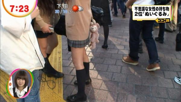 【放送事故画像】女子アナやアイドルの太ももってテレビで見られるだけあってエロいよなww 09