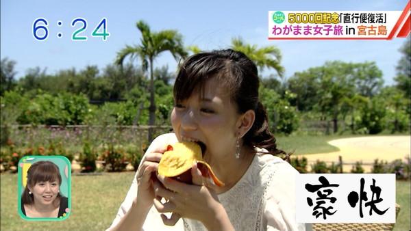 【放送事故画像】食べてる時の顔がもぉフェラしてる時の顔で妄想膨らむ~ww 23