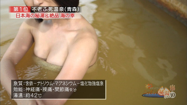 【放送事故画像】すべすべのお肌とプルンプルンのオッパイが見れる入浴シーン最高ww