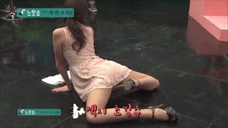 【放送事故画像】韓国のエロ番組でお股クパーして生理用品の付け方を実演www 08