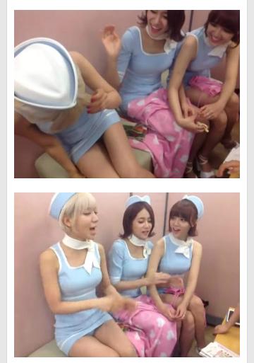 【放送事故画像】韓国のエロ番組でお股クパーして生理用品の付け方を実演www 11