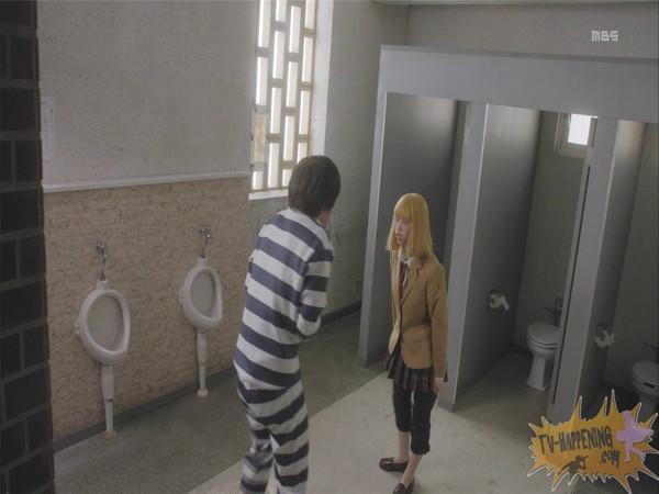 【お宝エロ画像】監獄学園第4話!まさか、脱衣からの聖水シーンまでやっちゃう!? 11