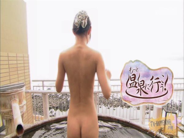 【放送事故画像】もしやパイパン?温泉に行こうに出た女性がパイパンっぽいので際どいシーンがやばいww