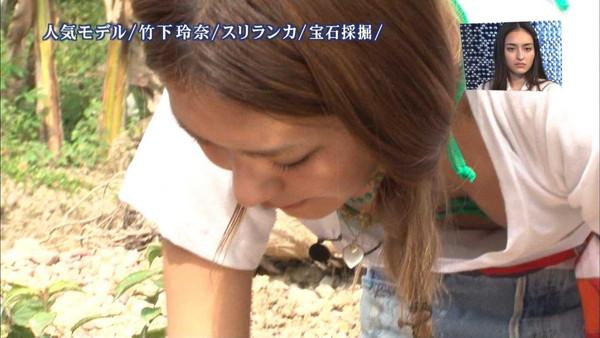 【放送事故画像】テレビに爆乳が映る!このオッパイ一体何カップ?? 23