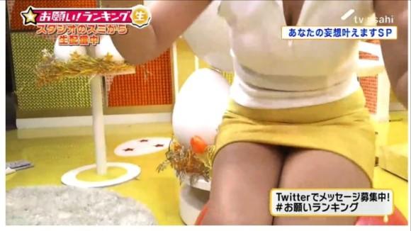 【放送事故画像】パンツが見えてる?それでテレビに映れればお構いなしなんだよwww 02