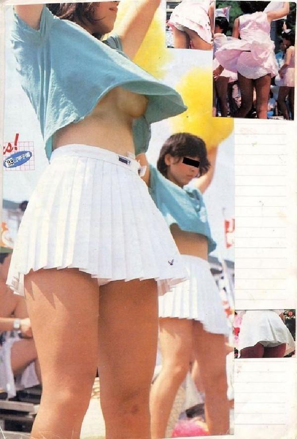【ポロリ画像】日本人のチラッと見える乳首と外人のガッツリ見える乳首、どっちが好き?ww 09