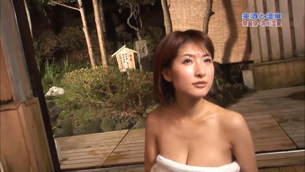 【放送事故画像】寒くなってきたしこんな女の人と温泉入れたら極楽だろうなw 02
