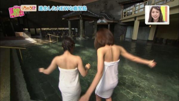 【放送事故画像】寒くなってきたしこんな女の人と温泉入れたら極楽だろうなw 14