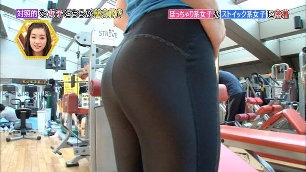 【放送事故画像】このお尻の形と言い大きさと言い間違いなく・・・安産だなwww 05