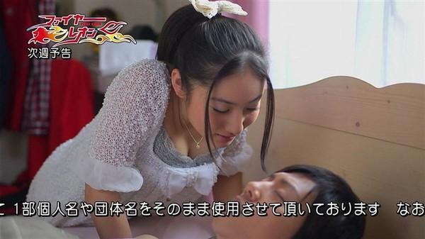 【放送事故画像】美乳で巨乳なオッパイ娘達がここぞばかりにオッパイアピールwww 05