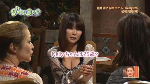 【放送事故画像】美乳で巨乳なオッパイ娘達がここぞばかりにオッパイアピールwww 13