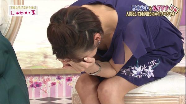 【放送事故画像】美乳で巨乳なオッパイ娘達がここぞばかりにオッパイアピールwww 18