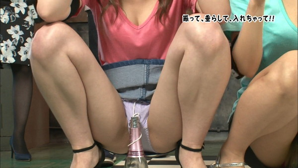 【放送事故画像】パンツも水着も一緒なんだから見られても平気と思ってる女達www 09