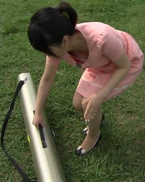 【放送事故画像】巨乳美女がテレビに出てるって聞いたんだが・・・こりゃやべぇww 08