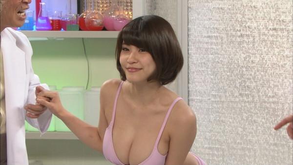 【放送事故画像】巨乳美女がテレビに出てるって聞いたんだが・・・こりゃやべぇww 10