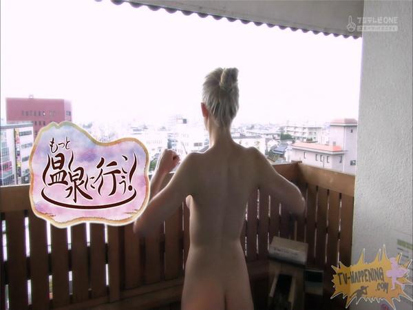 【お宝エロ画像】今回の温泉に行こうは外人の金髪美女!!お尻マジエロいwww