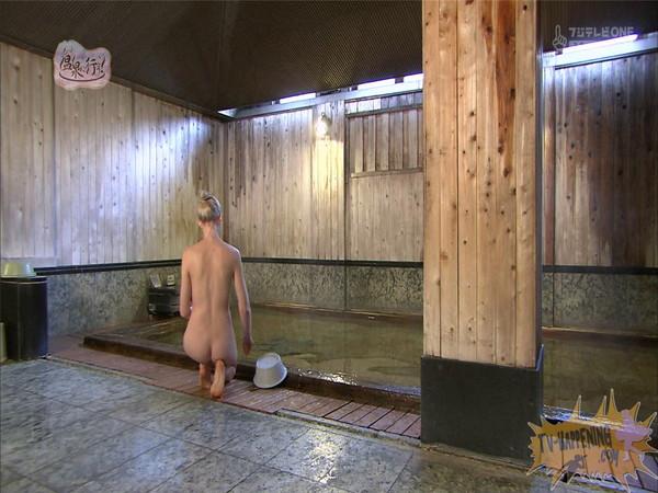 【お宝エロ画像】今回の温泉に行こうは外人の金髪美女!!お尻マジエロいwww 27