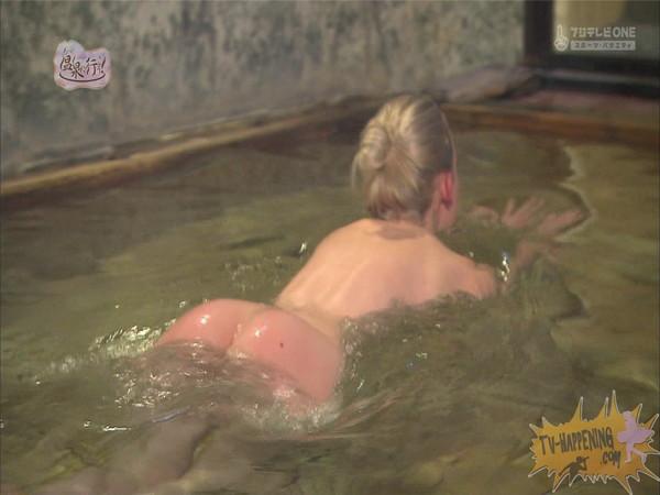 【お宝エロ画像】今回の温泉に行こうは外人の金髪美女!!お尻マジエロいwww 31