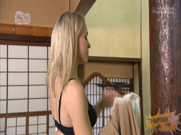 【お宝エロ画像】今回の温泉に行こうは外人の金髪美女!!お尻マジエロいwww 55