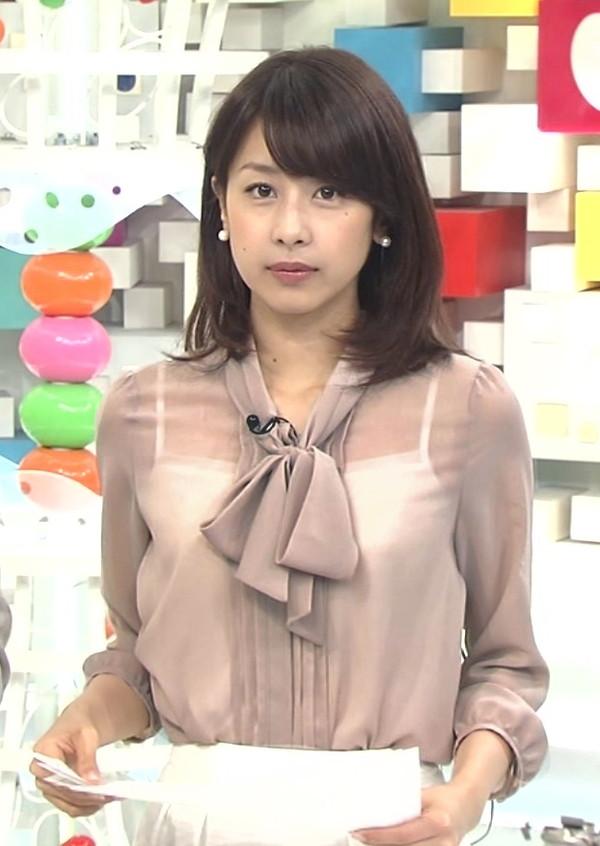 【放送事故画像】テレビで透け透けの衣装でやらしく自分の下着を見せつけてる女達ww 12