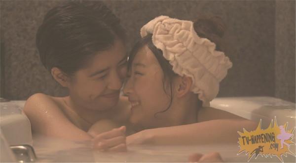 【お宝エロ画像】レズ物語のドラマ、トランジットガールズ!女同士でお風呂入ってイチャラブwww 19
