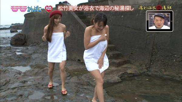 【放送事故画像】温泉レポ―としてる女のバスタオル取れたらいいのにっていつも思ってしまうよなww 07