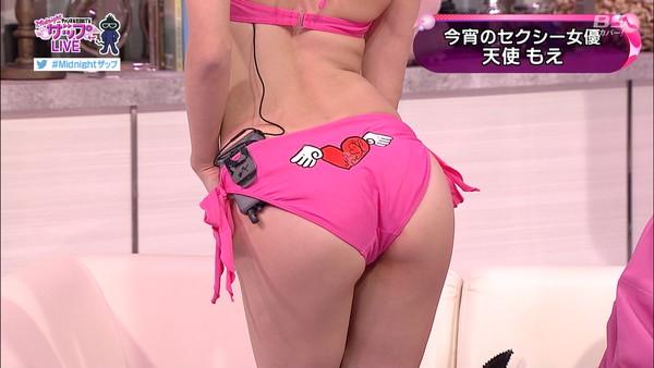 【放送事故画像】テレビで見せるプリップリのお尻女達がエロくてたまらんwww 02