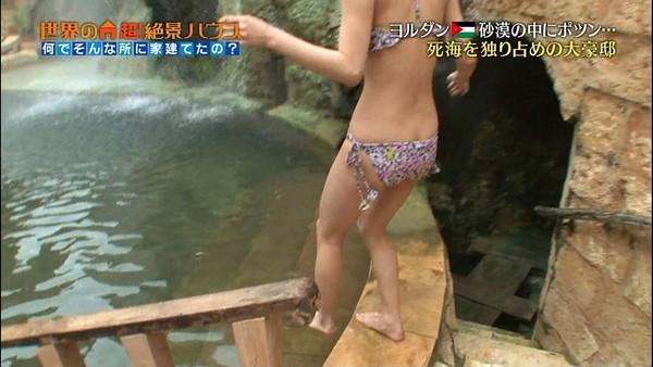 【放送事故画像】テレビで見せるプリップリのお尻女達がエロくてたまらんwww 11