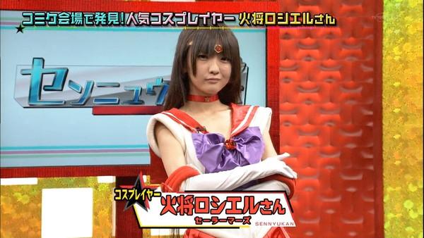 【放送事故画像】テレビでコスプレしたエロカワイイ女達が映ってるぞwww 08