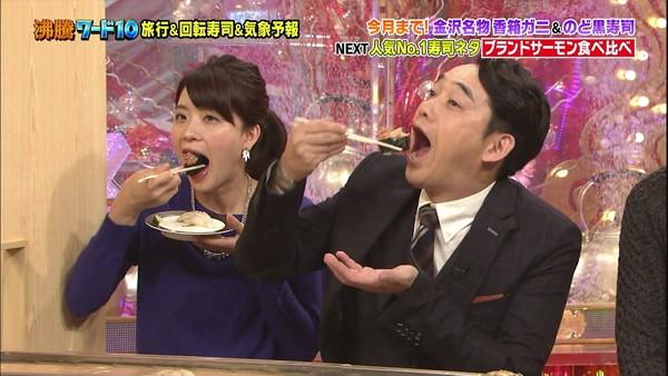 【疑似フェラ画像】食べ方で分かる!フェラが好きそうな女達のTVキャプ画像ww 14