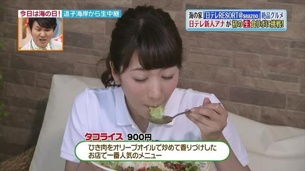 【疑似フェラ画像】食べ方で分かる!フェラが好きそうな女達のTVキャプ画像ww 18
