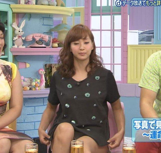 【放送事故画像】テレビでパンツ見えてようが別に平気な女達www 03