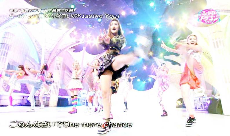 【放送事故画像】テレビでパンツ見えてようが別に平気な女達www 07