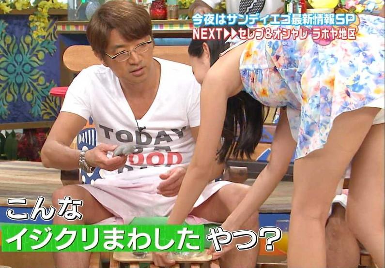 【放送事故画像】テレビでパンツ見えてようが別に平気な女達www 15